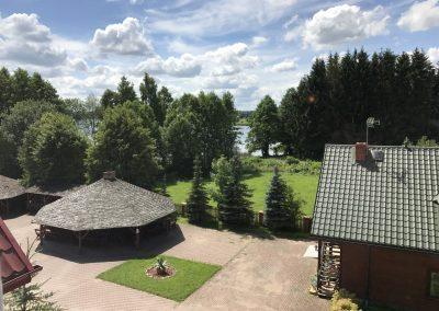 widok z okna - piętro